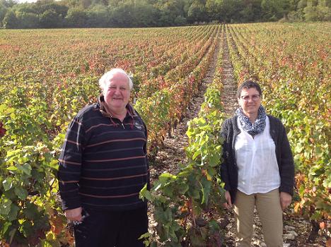 Vinbønder: Bourgogne Hautes Cotes de Nuits